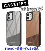 ★Casetify★iPhoneケース*The M JewelersコラボChain Tapes鏡面
