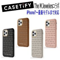 ★Casetify★iPhoneケース*The M Jewelersコラボ Barbed Wire 革