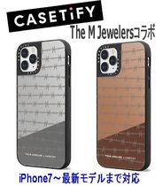 ★Casetify★iPhoneケース*The M JewelersコラボBarbed Wire鏡面
