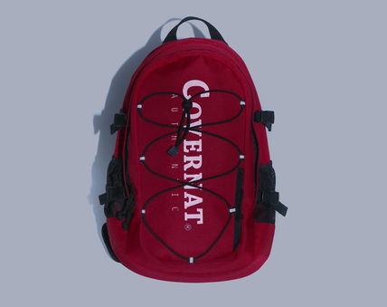 COVERNAT バックパック・リュック [COVERNAT](コボナッ)CORDURA AUTHENTIC LOGO RUCK SACK RED