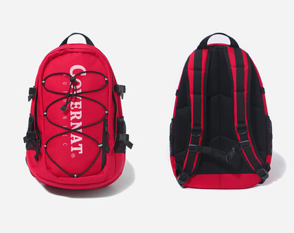COVERNAT バックパック・リュック [COVERNAT](コボナッ)CORDURA AUTHENTIC LOGO RUCK SACK RED(2)