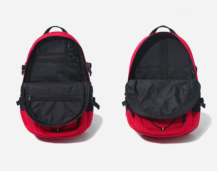 COVERNAT バックパック・リュック [COVERNAT](コボナッ)CORDURA AUTHENTIC LOGO RUCK SACK RED(3)