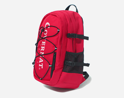 COVERNAT バックパック・リュック [COVERNAT](コボナッ)CORDURA AUTHENTIC LOGO RUCK SACK RED(4)