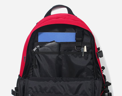 COVERNAT バックパック・リュック [COVERNAT](コボナッ)CORDURA AUTHENTIC LOGO RUCK SACK RED(5)