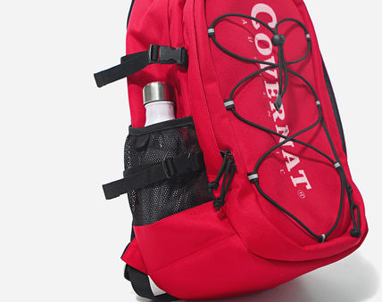 COVERNAT バックパック・リュック [COVERNAT](コボナッ)CORDURA AUTHENTIC LOGO RUCK SACK RED(6)