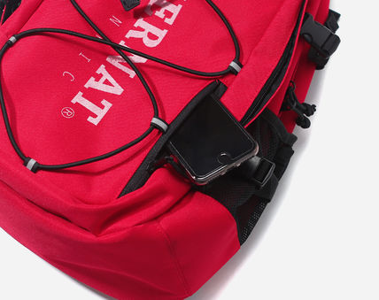 COVERNAT バックパック・リュック [COVERNAT](コボナッ)CORDURA AUTHENTIC LOGO RUCK SACK RED(7)