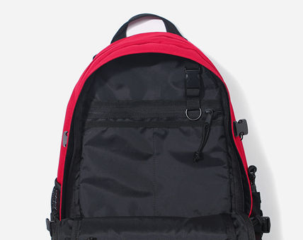 COVERNAT バックパック・リュック [COVERNAT](コボナッ)CORDURA AUTHENTIC LOGO RUCK SACK RED(10)