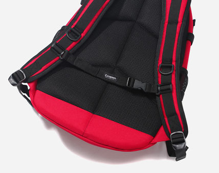 COVERNAT バックパック・リュック [COVERNAT](コボナッ)CORDURA AUTHENTIC LOGO RUCK SACK RED(11)