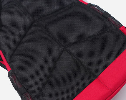 COVERNAT バックパック・リュック [COVERNAT](コボナッ)CORDURA AUTHENTIC LOGO RUCK SACK RED(12)