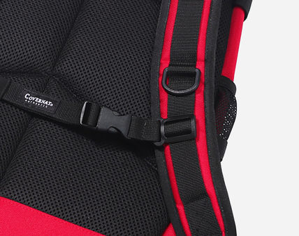 COVERNAT バックパック・リュック [COVERNAT](コボナッ)CORDURA AUTHENTIC LOGO RUCK SACK RED(14)