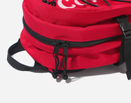 COVERNAT バックパック・リュック [COVERNAT](コボナッ)CORDURA AUTHENTIC LOGO RUCK SACK RED(15)