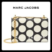 【MARC JACOBS】SALE!!Leather Polka Dot Chain Crossbody Bag☆