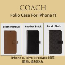 日本完売★COACH★Flip Case For iPhone11 追跡付き