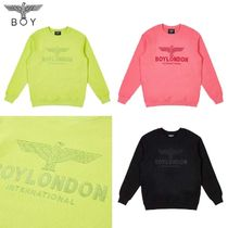 BOY LONDON★BLACK EMBROIDERY SWEATSHIRT - B01MT1311U