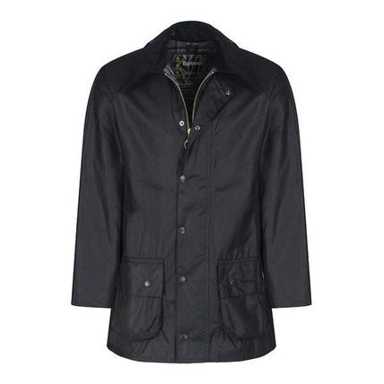 Barbour コートその他 BARBOUR BEAUFORT WAXED JACKET BLACK  MWX0017
