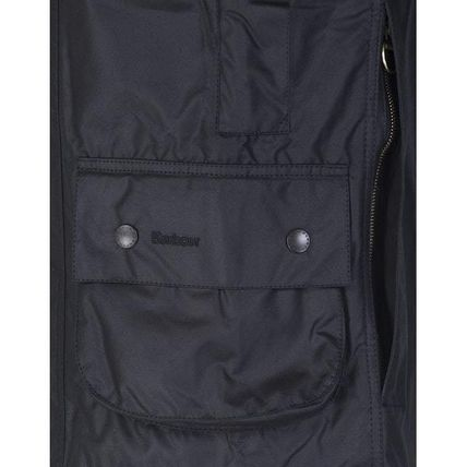 Barbour コートその他 BARBOUR BEAUFORT WAXED JACKET BLACK  MWX0017(4)