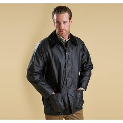 Barbour コートその他 BARBOUR BEAUFORT WAXED JACKET BLACK  MWX0017(5)