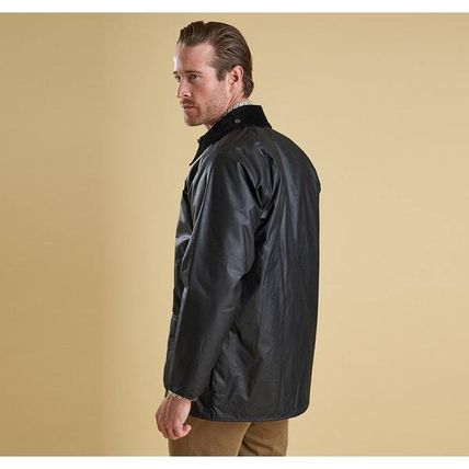 Barbour コートその他 BARBOUR BEAUFORT WAXED JACKET BLACK  MWX0017(6)