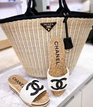 2020 S/S CHANEL 最新作★★CC SANDAL in white