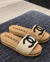 2020 S/S CHANEL 最新作★★CC SANDAL in BROWN