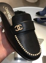 2020 S/S  CHANEL 最新作★★Dream mule with PEARL in 各色