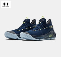 【UNDER ARMOUR】Men's UA Curry 6 Basketball Shoes_Navy