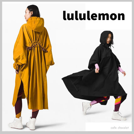 【lululemon x Roksanda】Face Forward Cape ケープ 防水 フード