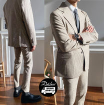ASCLO Kant Check Wool Suit YM139 追跡付