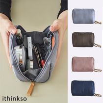 ithinkso★BELL MAKE-UP POUCH_WASHED