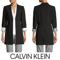 【SALE】Calvin Klein◆プリンセスシーム Open-Frontブレザー