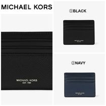 【Michael Kors】☆人気商品☆ Harrison Leather Tall Card Case