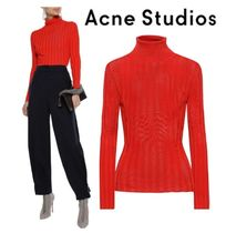 [関税・送料込] Acne Studios☆Ribbed-knit turtleneck sweater
