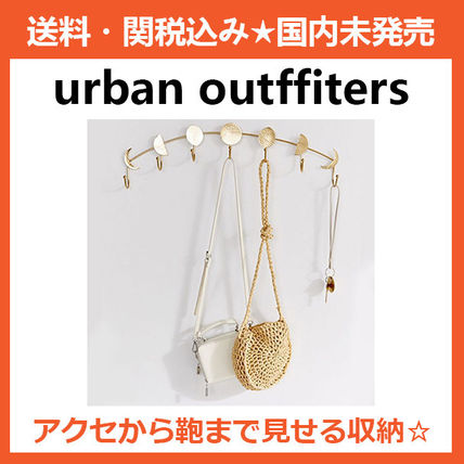 Urban Outfitters 棚・ラック・収納 Urban Outfitters★限定品★Moon Phase Multi-Hook★インテリア
