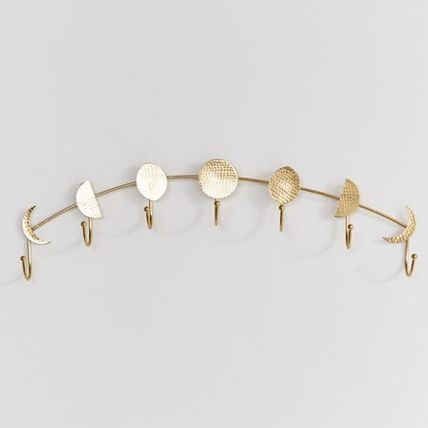 Urban Outfitters 棚・ラック・収納 Urban Outfitters★限定品★Moon Phase Multi-Hook★インテリア(4)