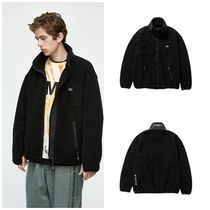 [LMC] ★韓国大人気★S-BOX FLEECE JACKET black
