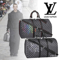 Louis Vuitton 2020SS ダミエ・グラフィット ボストンバッグ 2色