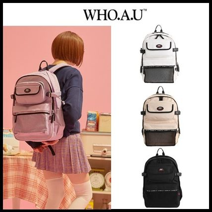 WHO.A.U バックパック・リュック ☆WHO.A.U☆  カジュアル バックパック  Multiple Backpack