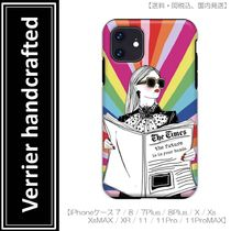 Verrier handcrafted THE FUTURE IS IN YOUR HANDS iPhoneケース