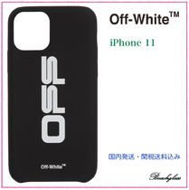 Off-White ☆ OFF プリント iPhone 11 ケース