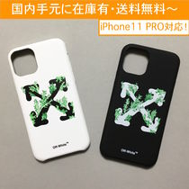 OFF-WHITE CORALS PRINT iPhone case