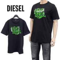 DIESEL Tシャツ 半袖 グラフィック SASG-0091A T-JUST-J20 900
