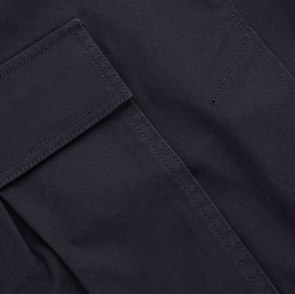"COS スカート ""COS"" COTTON SKIRT WITH PATCH POCKETS NAVY(5)"