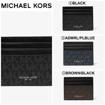 【Michael Kors】☆人気商品☆ Greyson Logo Tall Card Case