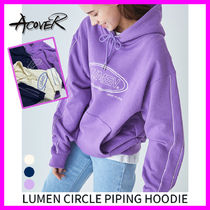 ACOVER(オコボ) パーカー・フーディ ◆ACOVER◆ 20SS 最新作★LUMEN CIRCLE PIPNG HOODIE (3色) 人気