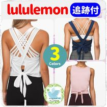 SALE!★lululemon★ Turn to Tie Tank クロップ丈タンク 追跡付