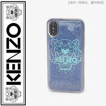 KENZO(ケンゾー)iPhone X/XS Tiger case(cyan)