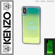 KENZO(ケンゾー)iPhone XS Max Tiger case(lemon)