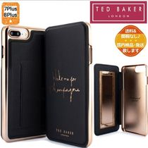 【TED BAKER】Champagne 手帳型 iPhone XSmax/8Plus/7Plus