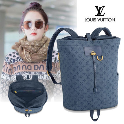 Louis Vuitton バックパック・リュック 【Louis Vuitton】20SSNEW! Cute デニムバックパック/モノグラム