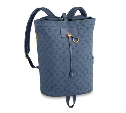 Louis Vuitton バックパック・リュック 【Louis Vuitton】20SSNEW! Cute デニムバックパック/モノグラム(2)